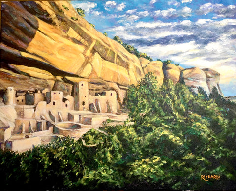 Mesa Verde; a recent commission completed