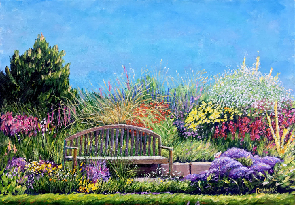 Bench and Garden SOLD