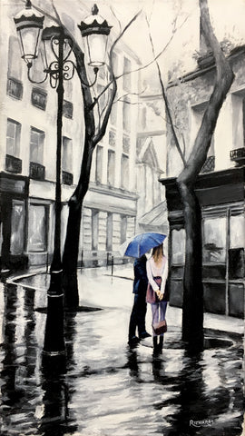 Conversation in the Rain SOLD