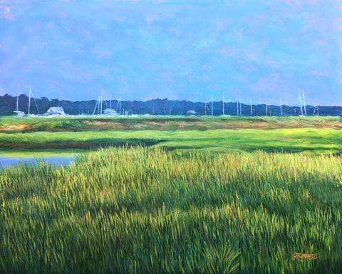 Summer Afternoon on Marsh SOLD