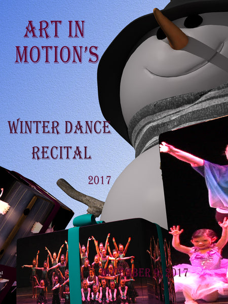 Art in Motion's Holiday Recital 2017