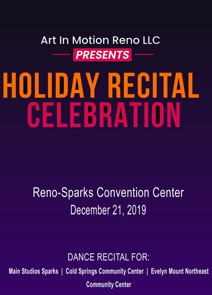 Art in Motion's Holiday Recital 2019