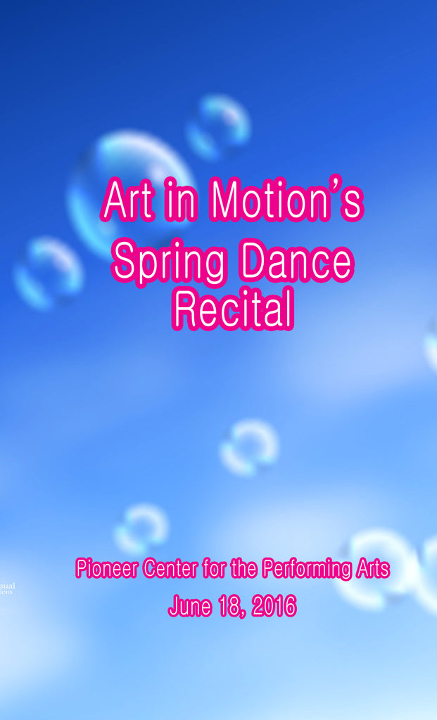 Art in Motion's Spring Recital 2016