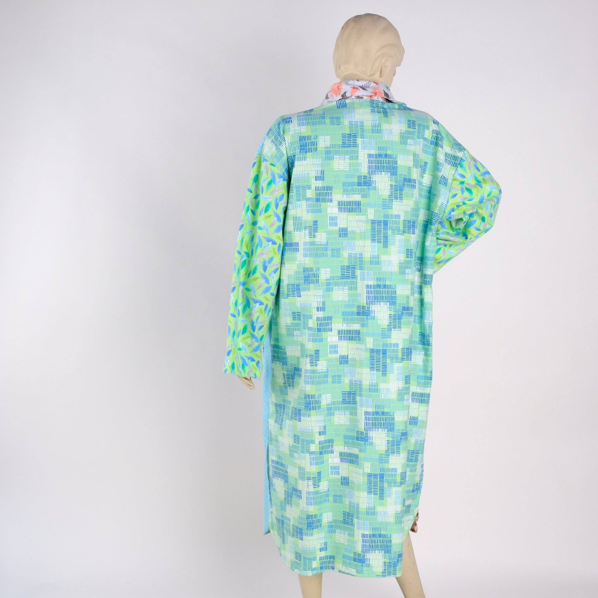 Pastel Housecoat - Medium - Tessuti Zoo
