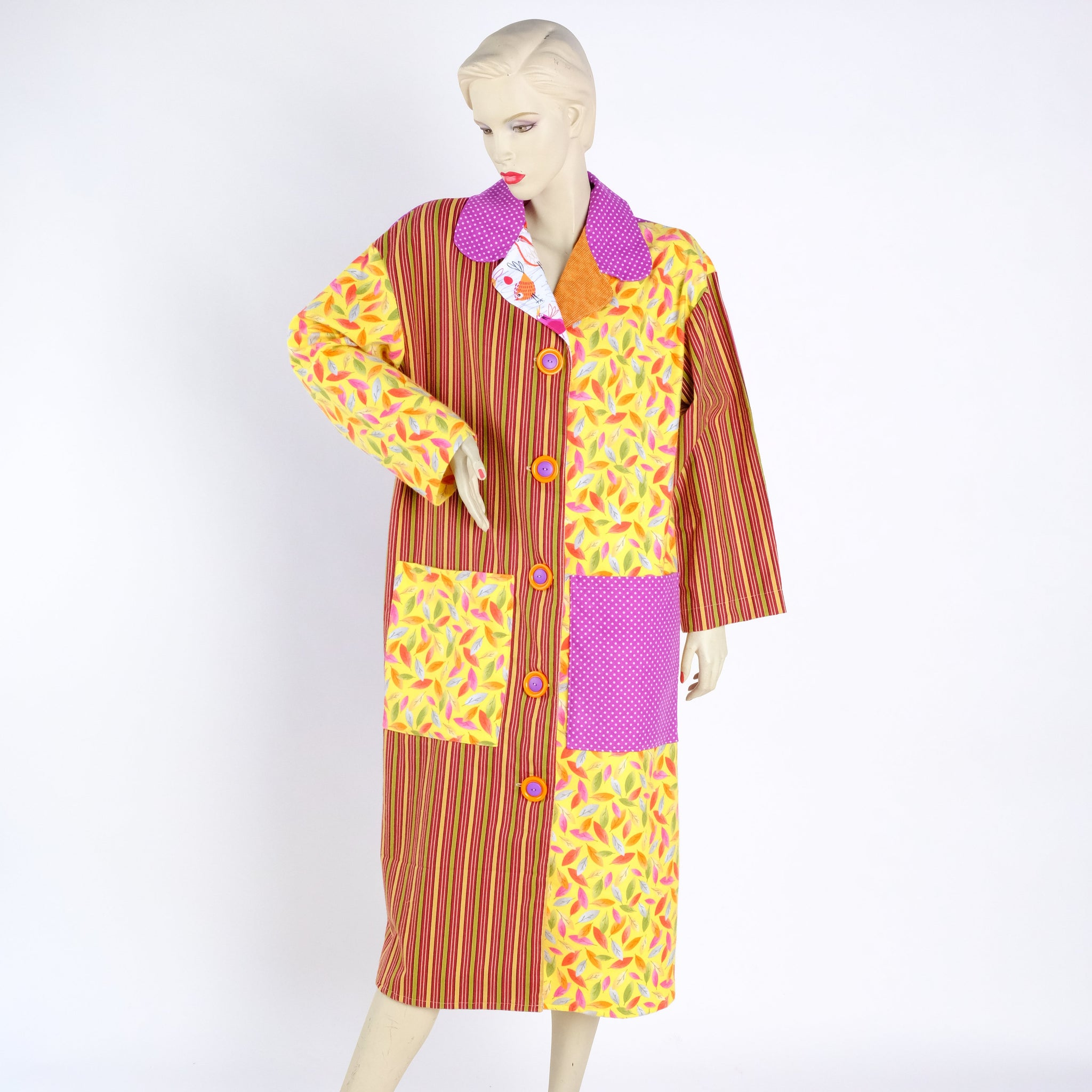 Autumn Housecoat - Small - Tessuti Zoo