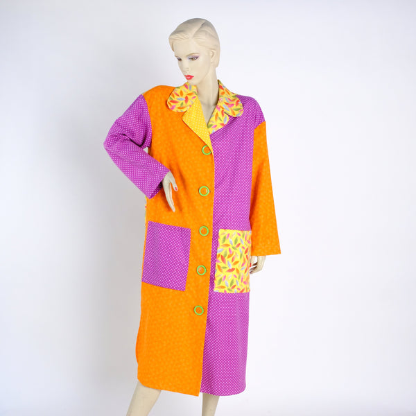 Hot! Hot! Hot! Housecoat - Small - Tessuti Zoo