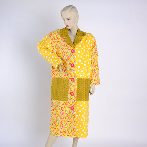 Sunshine Housecoat - Small - Tessuti Zoo