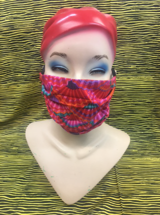 Surgical Pleated Cloth Face Mask - Tessuti Zoo