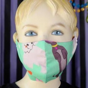 Kids Reversible Cloth Mask - Tessuti Zoo