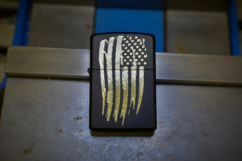 Custom Engraved Zippo lighter