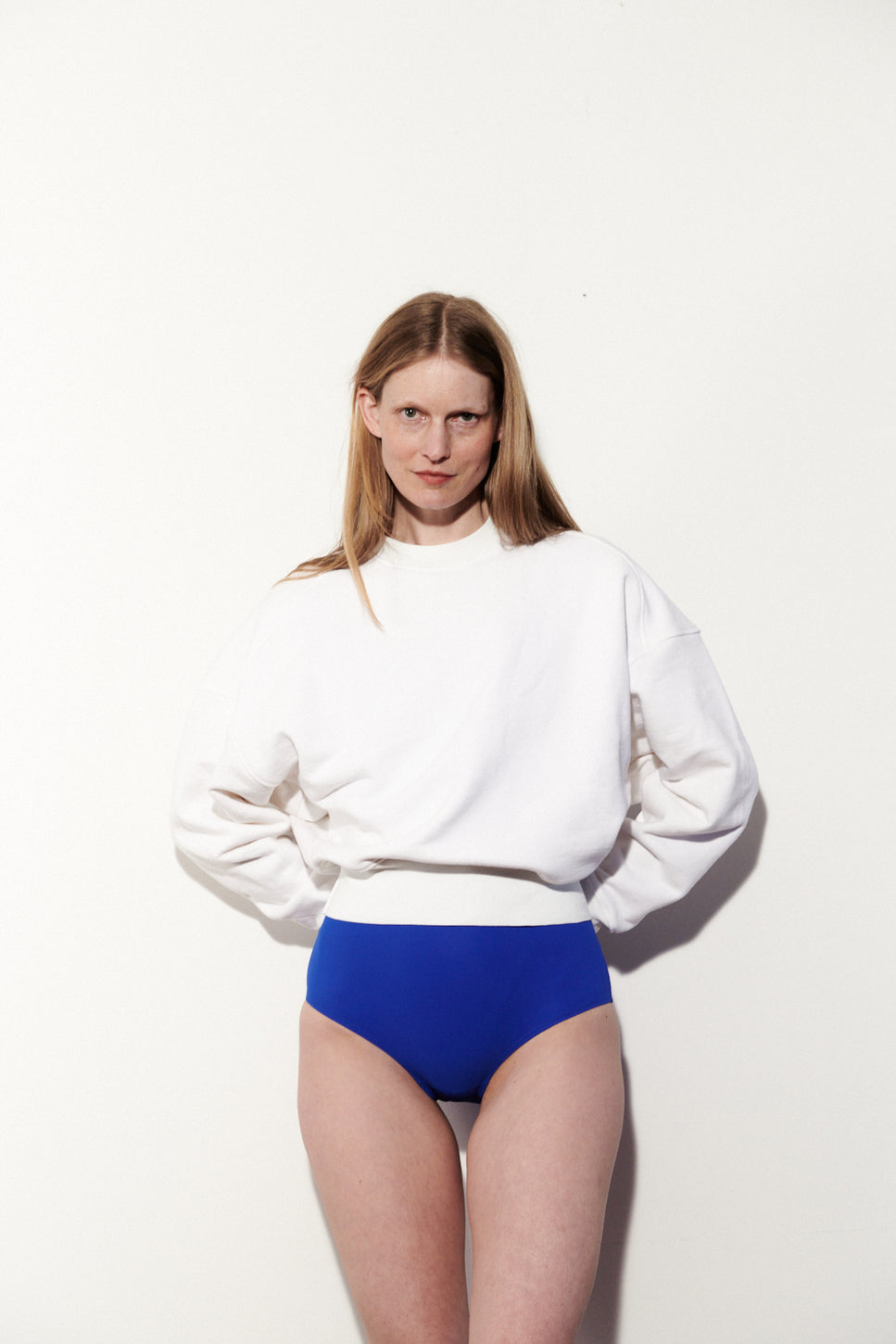Nu Swim — Organic Cotton Smile Sweatshirt