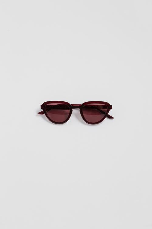 Nu Swim | Lowercase  — Opal Sunglasses — Red/Red