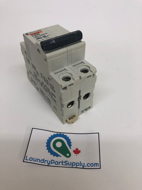 1.0 - 1.5 AMP 2 POLE TKT CIRCUIT BREAKER