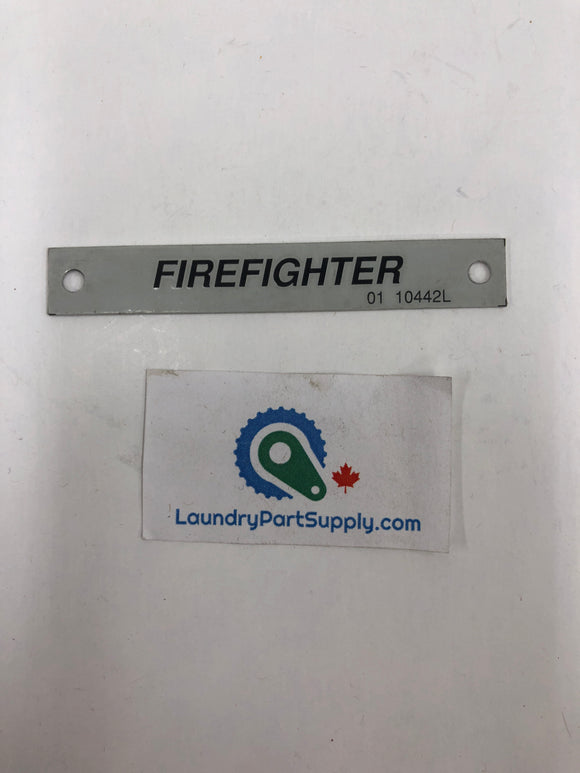 GENERAL NAMEPLATE - FIREFIGHTER