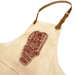 LOCO MOSQUITO WORKING APRON (CREAM): Alternate View #2