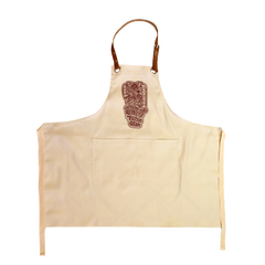 LOCO MOSQUITO WORKING APRON (CREAM): Alternate View #1