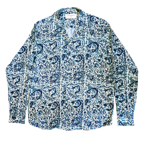 CHE CHO LE TATOOER LONG SLEEVE SHIRT FRONT VIEW