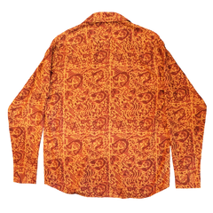 CHE CHO LE TATOOER X LOCO MOSQUITO ORANGE LONG SLEEVE SHIRT: Alternate View #2