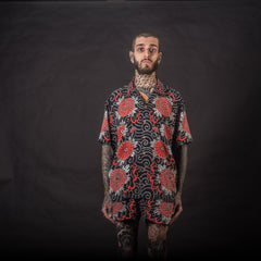 [UNISEX] GUY LE TATOOER X LOCO MOSQUITO HANNYA SHIRT: Alternate View #5