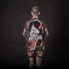 [UNISEX] GUY LE TATOOER X LOCO MOSQUITO HANNYA SHIRT: Alternate View #4