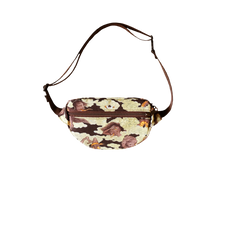 [UNISEX] BANGXGANJI X LOCO MOSQUITO YOKAI CAMO BUM BAG (BROWN / GREEN): Alternate View #2