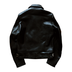 "LEATHER SINGLE RIDERS JACKET ""BA GUA"": Alternate View #2"