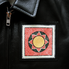 "LEATHER WORKERS JACKET ""DOLMA"": Alternate View #3"