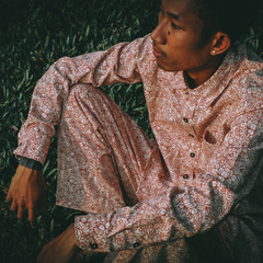 "GUY LE TATOOER X LOCO MOSQUITO ""THE NEW SUN"" MENS LONG SLEEVE SHIRT: Alternate View #6"