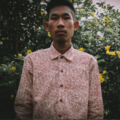 "GUY LE TATOOER X LOCO MOSQUITO ""THE NEW SUN"" MENS LONG SLEEVE SHIRT: Alternate View #4"