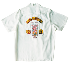 VINYASA EMBROIDERED ALOHA SHIRT: Alternate View #1