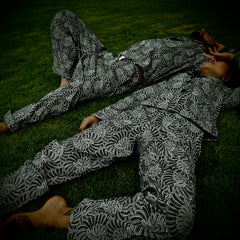 "[MENS] GUY LE TATOOER X LOCO MOSQUITO ""THE NEW SUN"" TRIPPY TROUSERS: Alternate View #4"