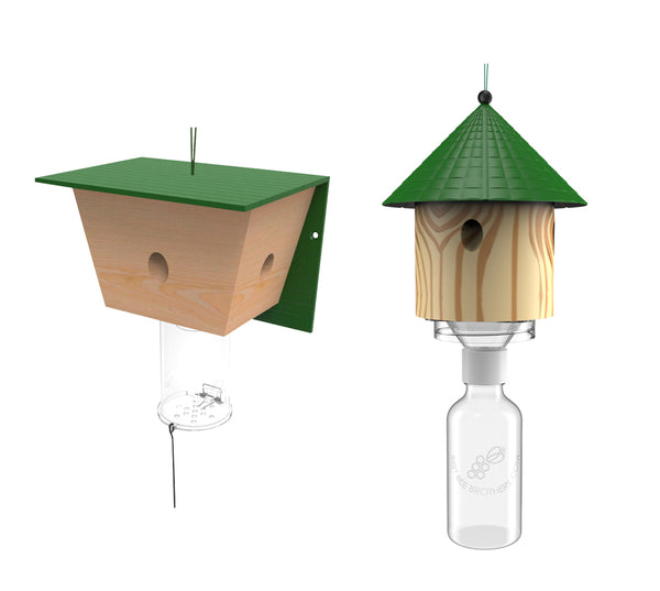 Best Bee Brothers | Best Bee Trap and Bee Hut Trap Combo Pack