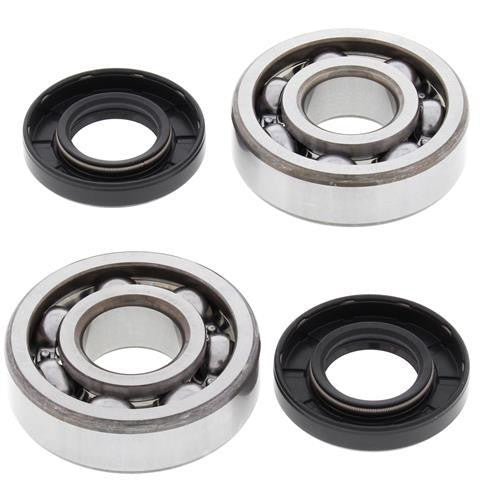 All Balls Racing Crank Shaft Bearing and Seal Kit Kawasaki KX65 24-1006 - MotoTriad - 1