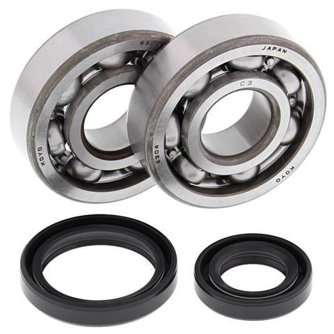 All Balls Racing Crank Shaft Bearing and Seal Kit Suzuki RM85 24-1014