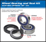 All Balls Racing Rear Wheel Bearing Kit Honda CRF50 25-1167 - MotoTriad - 2
