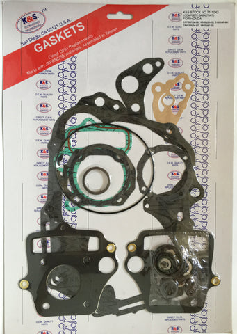 K&S Complete Engine Gasket Kit Honda XR50 71-1043 - MotoTriad