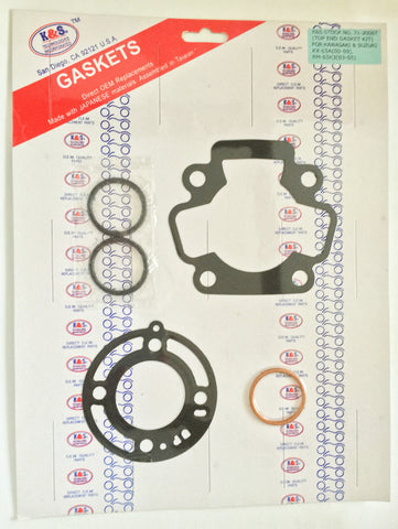 K&S Top End Gasket Set Kawasaki KX65 71-2006T - MotoTriad