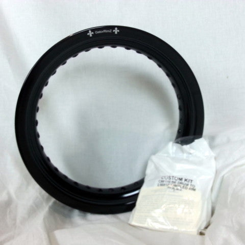 "Honda XR100 Rear Rim and Spoke Kit 12"" x 2.5"" GatorRimz K&J Racing - MotoTriad"