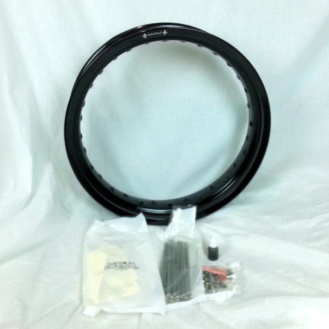 "Honda CR85 Rear Rim and Spoke Kit 12"" x 2.5"" GatorRimz K&J Racing - MotoTriad"