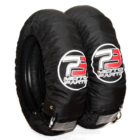 "73 Motosports Tire Warmers: 3 Temp 12"" and 17"""