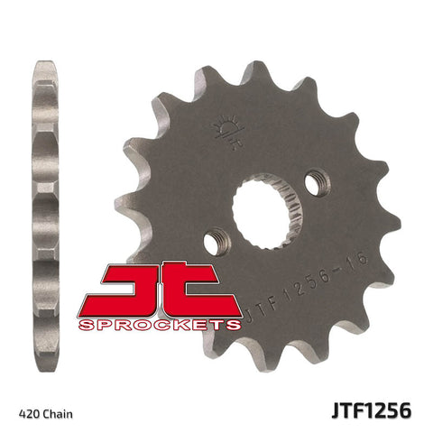Honda XR50 Front Steel Sprocket JT Sprockets JTF1256 - MotoTriad
