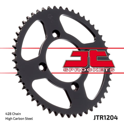 Honda XR100 1985-2003 Rear Steel Sprocket JT Sprockets JTR1204 - MotoTriad