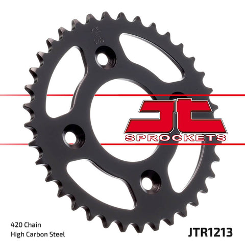 Honda XR50 Rear Steel Sprocket 37 JT Sprockets JTR1213 - MotoTriad