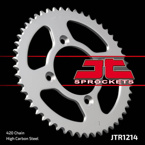 Honda XR80 1985-2003 Rear Steel Sprocket JT Sprockets JTR1214 - MotoTriad