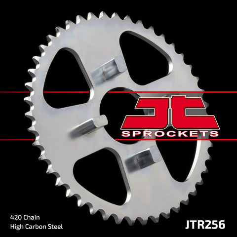 Honda XR80 1979-1984 Rear Steel Sprocket JT Sprockets JTR256 - MotoTriad