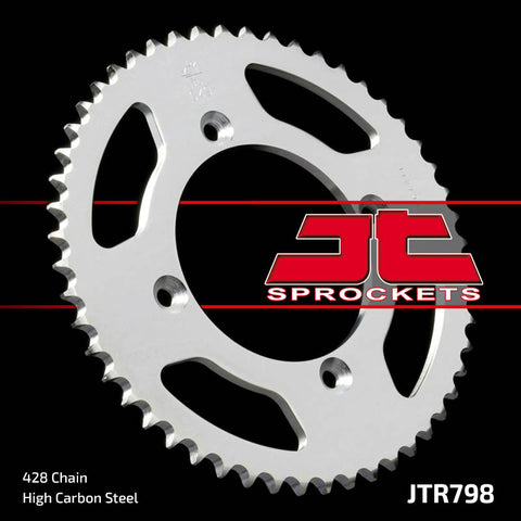 Yamaha YZ85 Rear Steel Sprocket JT Sprockets JTR798 - MotoTriad