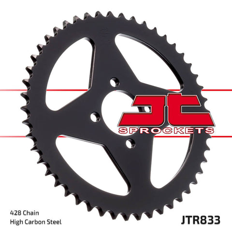 Yamaha TTR125 2000-2001 Rear Steel Sprocket 49 JT Sprockets JTR833 - MotoTriad