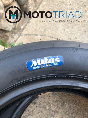 "Mitas 12"" Mini / Scooter MC35 2.0 Rear Racing Tire - MEDIUM Compound"