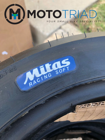 "Mitas 12"" Mini / Scooter MC35 2.0 Front Racing Tire - SOFT Compound"
