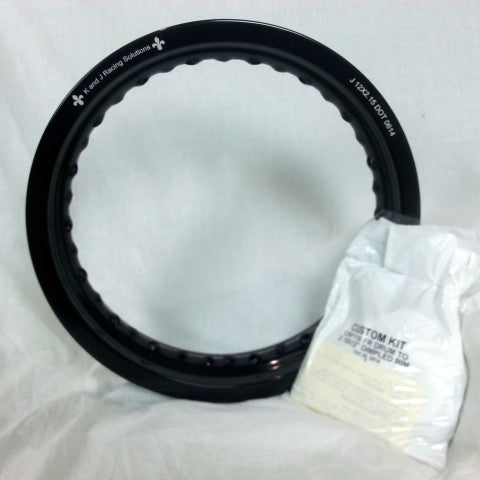 "Honda XR100 Front Rim and Spoke Kit 12"" x 2.15"" GatorRimz K&J Racing - MotoTriad"